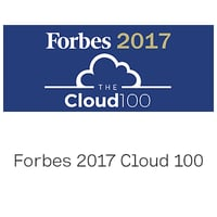 Forbes 2017 Cloud 100 logo