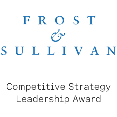 Frost & Sullivan Competitive Strategy Leadership Award logo